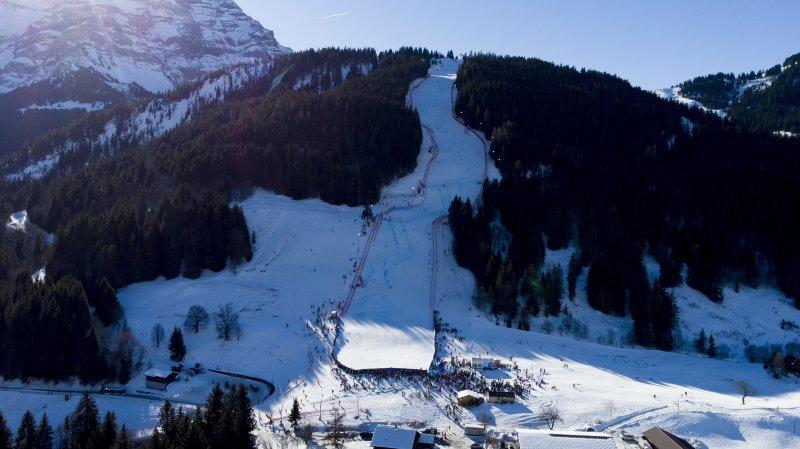 La piste des Diablerets ne peut pas encore être fréquentée par les skieurs.
