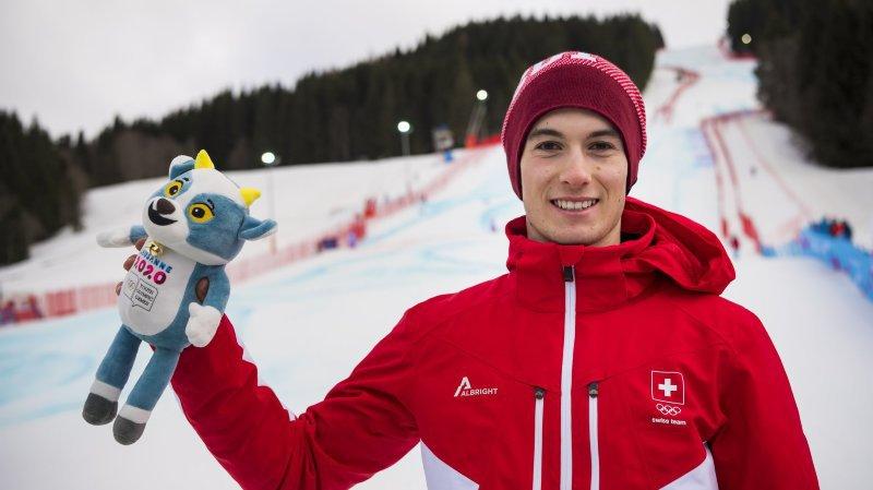 JOJ: «Cette médaille de bronze en super-G récompense mon travail», apprécie le skieur Luc Roduit