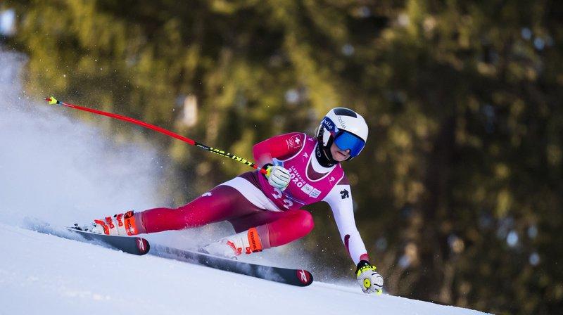 Lena Volken attend surtout beaucoup du slalom, mardi.