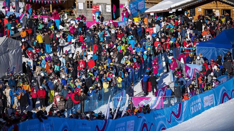 JOJ: le public remplit les stades et les aires d'arrivée