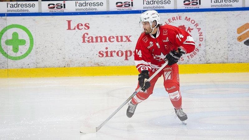 Hockey: battu à Bâle, le HCV Martigny reste toutefois en tête du classement