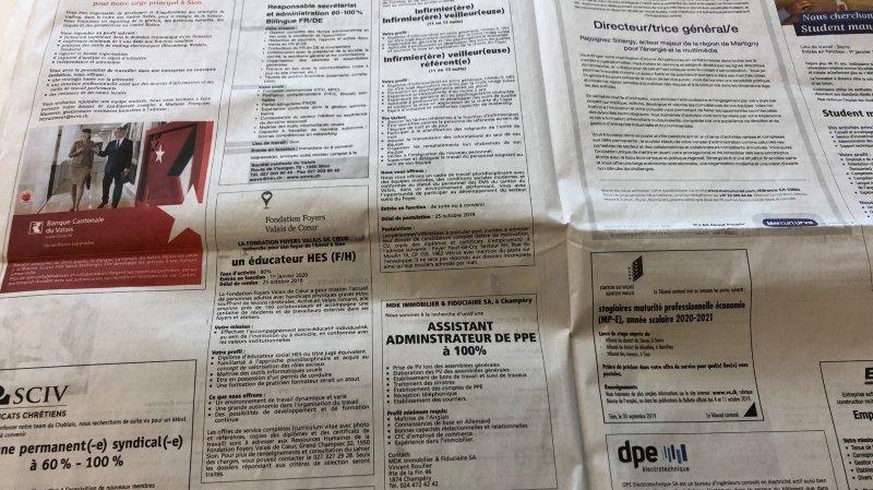 Valais: le taux de chômage a baissé en mai malgré le coronavirus