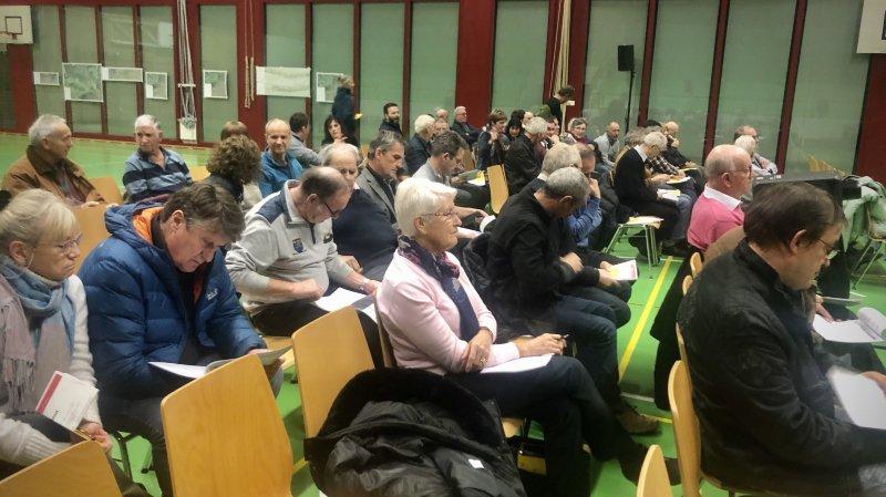 Les résultats du sondage ont été présentés lors de l'assemblée primaire de Chamoson, ce mercredi 18 décembre.