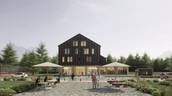 Voilà à quoi devraient ressembler les futurs Bains de Crans-Montana