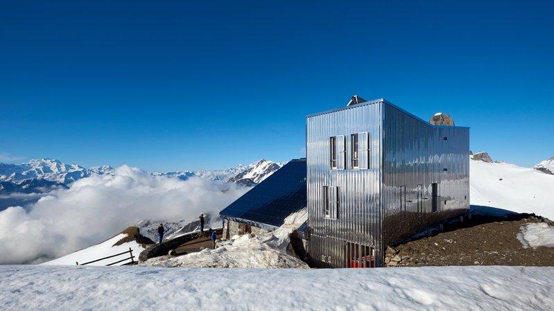 La cabane Rambert, au-dessus d'Ovronnaz, avait obtenu en 2017 la reconnaissance du jury du prix Constructive Alps pour la qualité de sa rénovation, réalisée en 2016.