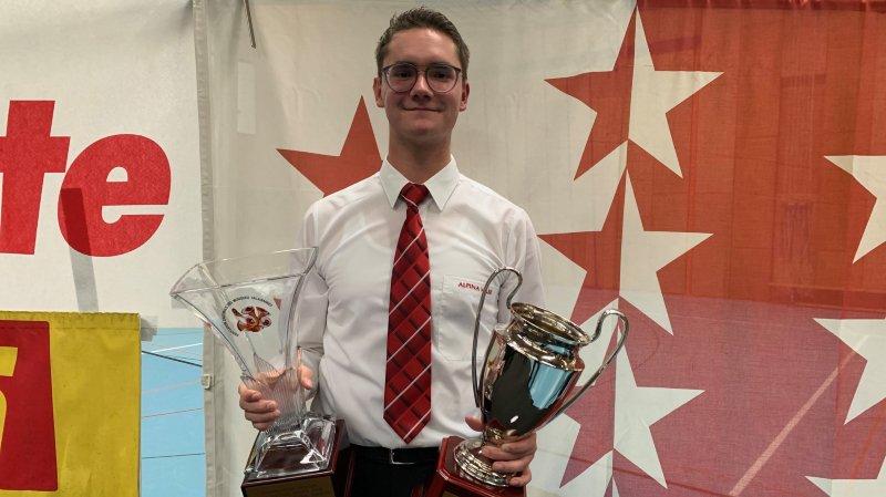 Cédric Ritler confirme son titre de Champion valaisan des Solistes juniors