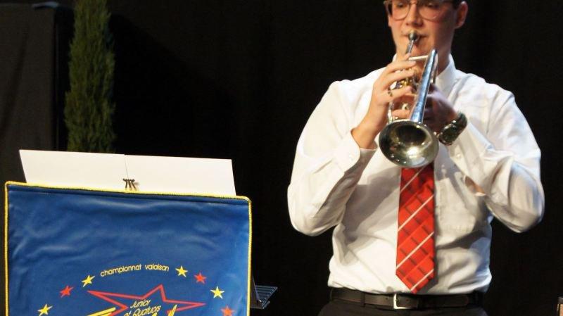 Cédric Ritler, 25e champion valaisan des solistes juniors, signe un doublé historique