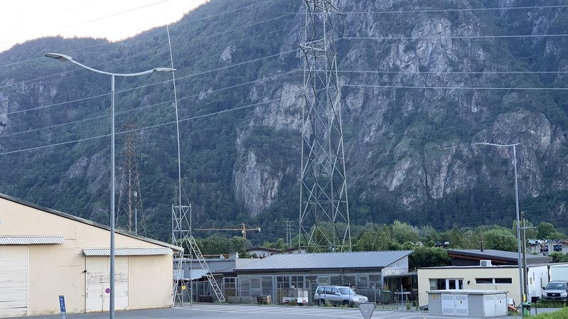 Dorénaz: l'antenne 5G déménage