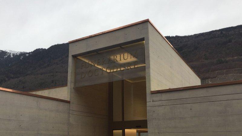 Le nouveau funérarium d'Octodure a été inauguré vendredi, en fin d'après-midi.