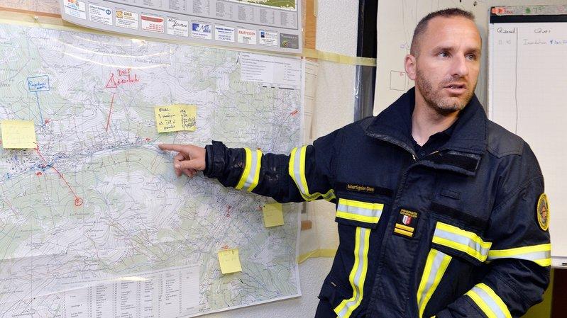 Glenn Martignier, nouveau chef de la sécurité montheysanne