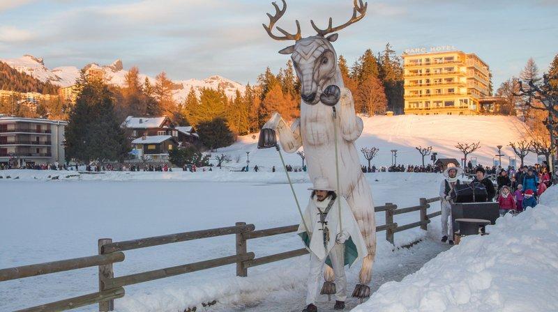 Une parade originale rythmera Noël à Crans-Montana
