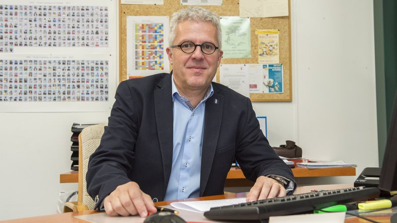 Philippe Luisier était en poste depuis 2015.