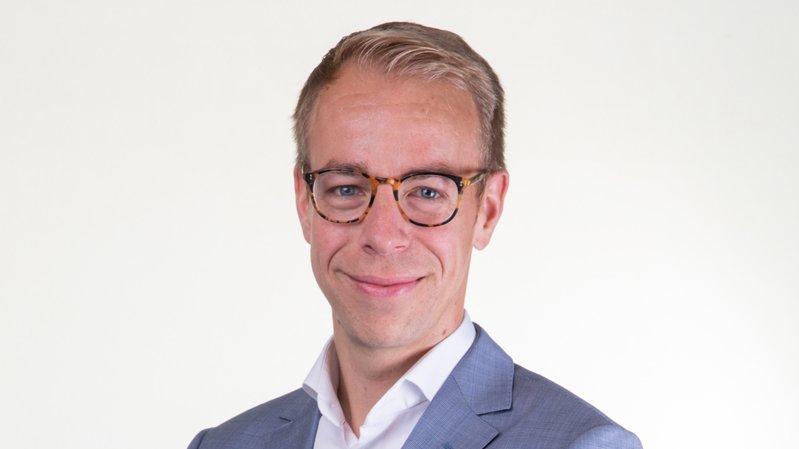 Florian Piasenta devrait être le futur président du PLR valaisan.