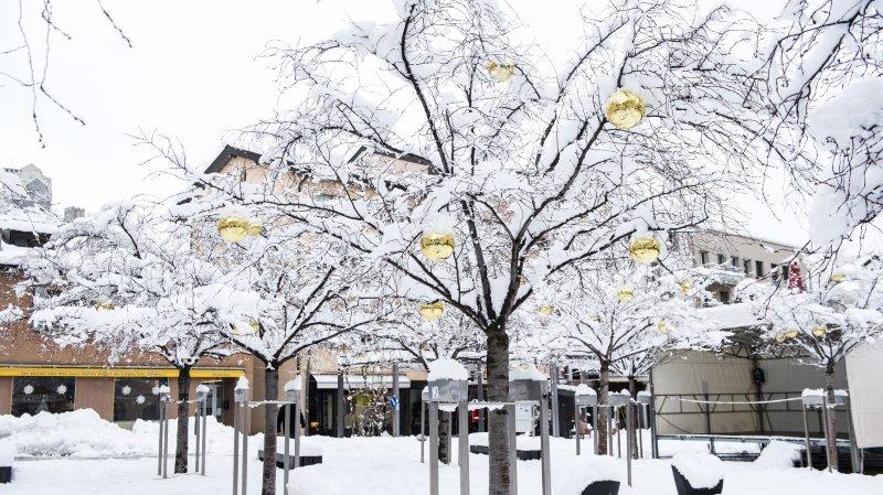 Un demi-mètre de neige en Valais: entre réjouissance et appel à la prudence