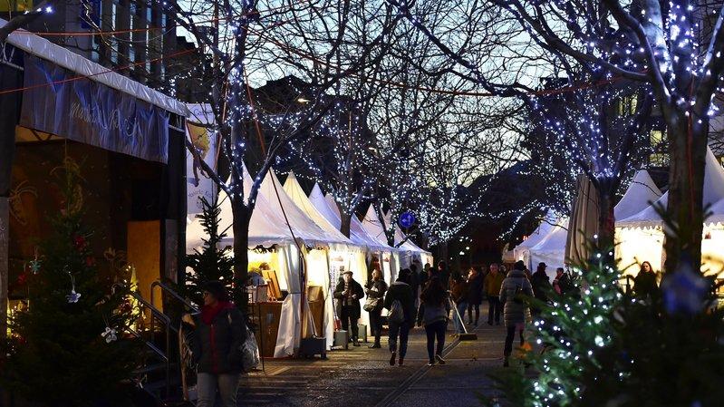 Le marché de Noël de Sion animera la cité pendant dix-sept jours, dès samedi.