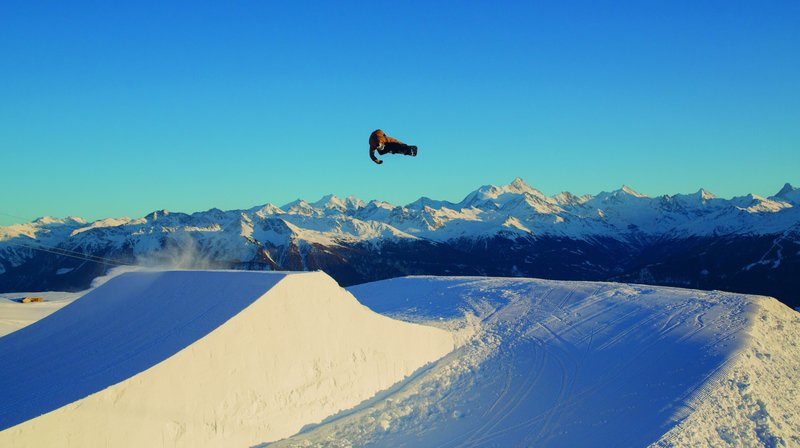 Le snowpark de Crans-Montana mettra ses infrastructures à la disposition de cinq nations.