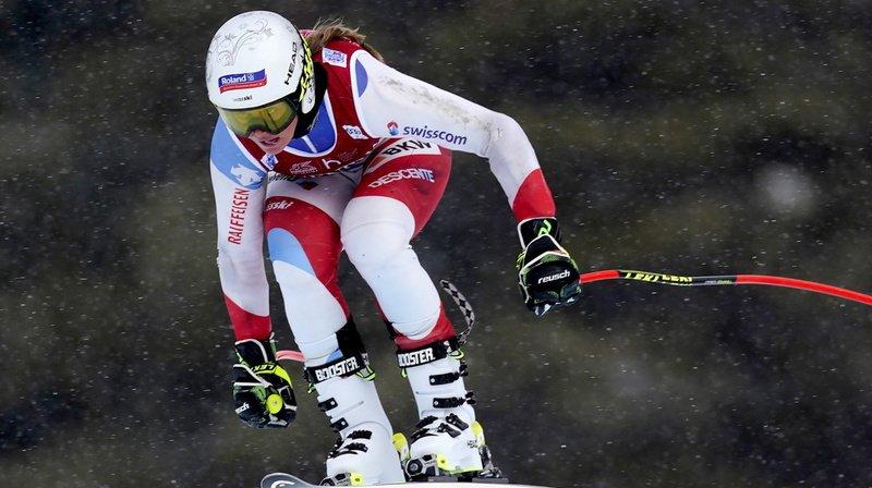 Corinne Suter a «sauvé» le camp suisse d'une contre-performance inhabituelle.