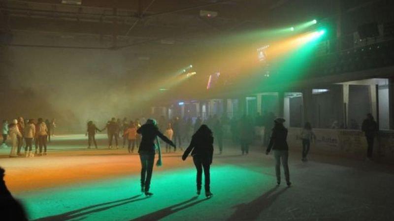 La patinoire de Martigny se transforme en disco ce prochain samedi.