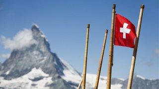 Une croix blanche sur fond rouge: est-ce que vous connaissez l'origine du drapeau suisse?
