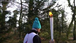 Lausanne 2020: la flamme parcourt la capitale olympique