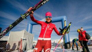 Quatre Valaisans champions de Suisse de Vertical en ski-alpinisme