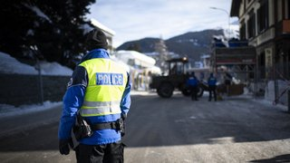 World Economic Forum de Davos: des policiers valaisans en renfort