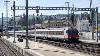 CFF: le nouveau système informatique de contrôle ralentit trop les trains qui entrent en gare