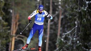 Biathlon: Benjamin Weger bon cinquième derrière quatre Français