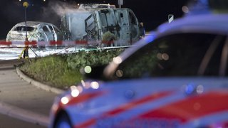 Vaud: nouvelle attaque d'un fourgon blindé à Daillens