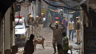 Inde: au moins 43 morts dans l'incendie d'une usine de New Delhi