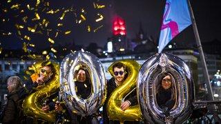 Nouvel An: la Suisse a accueilli 2020 avec des festivités repensées pour protéger le climat