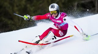 JOJ: Luc Roduit récolte cette fois la médaille d'argent en slalom