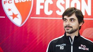 Le FC Sion a officiellement présenté son nouvel entraîneur Ricardo Dionisio