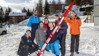 L'EPFL Rocket Team teste le système d'atterrissage de sa fusée à Crans-Montana