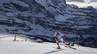 Ski alpin: les semaines anglaises de Loïc Meillard