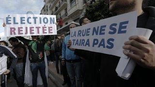 A Alger, la présidentielle  ne fait pas recette