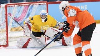 JOJ: deux hockeyeurs valaisans jouent les cobayes à Lausanne, sur une glace réduite