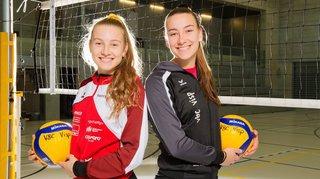 Volleyball: les sœurs Giroud, complices sur et en dehors du terrain