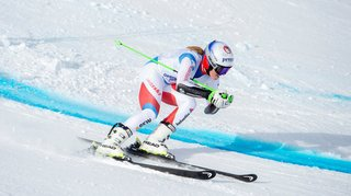 Ski alpin: neuf mois après sa blessure, Camille Rast rechausse les lattes