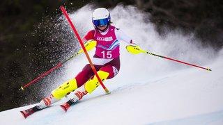 JOJ: Lena Volken récolte l'argent olympique en slalom