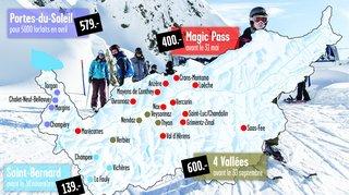 Valais: les préventes d'abonnements de ski annoncent un hiver réussi