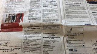 Fort recul du chômage en Valais