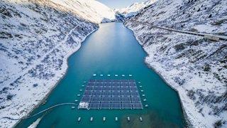 Le premier parc solaire flottant est entré en service