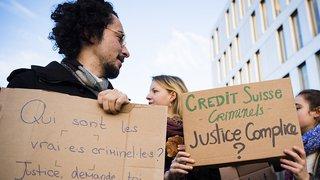 Occupation de Crédit Suisse à Lausanne: les 12 militants du climat ont été acquittés lors du procès