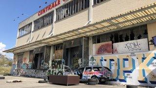 Sion: la démolition de la centrale Magro a débuté
