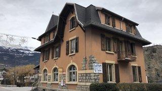 Chippis: le bâtiment de l'ancienne poste sera remis à neuf