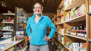 Marlène Mauris: elle a troqué Zurich contre l'épicerie de La Sage