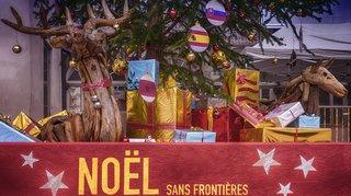 Sierre: 98 nationalités représentées sur un sapin