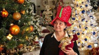 A Sion, chez Raphaëlle, c'est 23 fois Noël