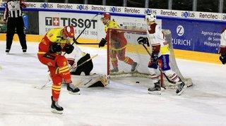 Hockey: Sierre fait un bon pas vers le maintien en Swiss League